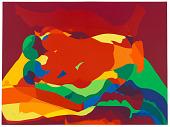 view Rainbow night 1, from the series, <em>Rainbow Passes Slowly</em> digital asset number 1