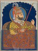 view Maharana Bhim Singh of Mewar at a Palace Window digital asset number 1