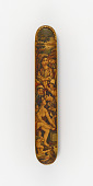 view Pen case with a naked woman, mother and child, and attendants in a landscape digital asset number 1