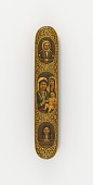 view Pen case with the Virgin and Child, and figures in medallions digital asset number 1