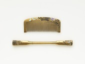 view Comb and hairpin digital asset number 1