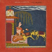 view Kaccheli Ragini, from a Ragamala digital asset number 1
