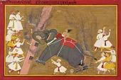 view The elephant Khanderao Bahadur killing Sham Mahavat digital asset number 1