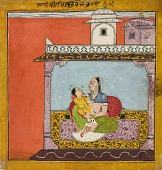 view Vilaval Ragini, from a ragamala digital asset number 1