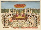 view The Darbar of Maharaja Bakhat Singh digital asset number 1