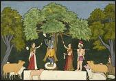 view Krishna entertains his companions digital asset number 1