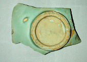 view Fragment of bowl with square stamped mark in mirror digital asset number 1