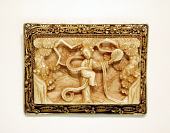 view Brooch with ivory plaque digital asset number 1