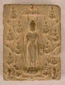view Buddhist votive plaque digital asset number 1