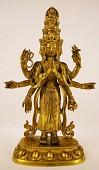 view Vishnu or Eleven Headed Bodhisattva Avalokiteshvara (Guanyin) digital asset number 1