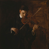view The Violinist digital asset number 1