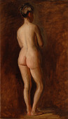 view Standing Female Nude (back view) digital asset number 1