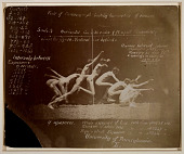 view Marey Wheel Photographs of Unidentified Model, with Eadweard Muybridge Notations digital asset number 1