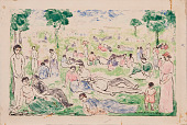 view Park With Figures digital asset number 1