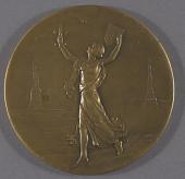 view Medal, Commemorative, Charles A. Lindbergh digital asset number 1