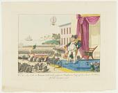 view Wie der _die Jahr in Europa nicht mehr gefeyerte_Napoleons=Tag auf der Insel St. Helena Festlich begangen wird. digital asset number 1