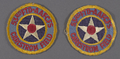 view Insignia, 53rd FTD-AAFCFS Carlson Field, United States Army Air Forces digital asset number 1