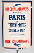 view Imperial Airways British Airways Paris in 70 Flying Minutes 8 Services Daily digital asset number 1
