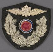 view Badge, Cap, Officer, Royal Norwegian Air Force digital asset number 1