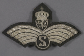 view Badge, Observer, Royal Norwegian Air Force digital asset number 1