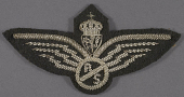 view Badge, Wireless Operator/Air Gunner, Royal Norwegian Air Force digital asset number 1