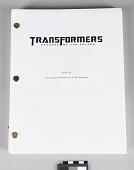 view Movie Script, Transformers: Revenge of the Fallen digital asset number 1