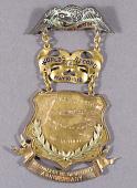 view Medal, Commemorative, Newport to Avalon Flight, Glenn Martin digital asset number 1