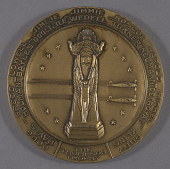 view Medal, Commemorative, Thompson Aircraft Co. digital asset number 1