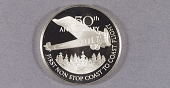 view Medal, 50th Anniversary of the First Non-stop Transcontinental Flight digital asset number 1