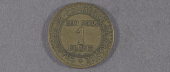 "view Coin, France, 1 Franc, Lockheed Sirius ""Tingmissartoq"", Lindbergh digital asset number 1"