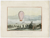 view The Natives of Torneȁ Lapmark, afsembled [sic] at Enontekis, to witnefs [sic] the launching the first Balloon within the Arctic Circle. digital asset number 1