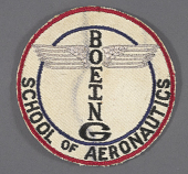 view Insignia, Boeing School of Aeronautics digital asset number 1