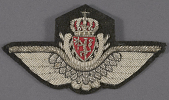 view Badge, Pilot, Royal Norwegian Air Force digital asset number 1