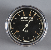 view Simple Altimeter, 0-15 Thousand Feet digital asset number 1
