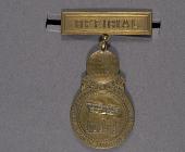 view Badge, Official, Pan American Aeronautical Exposition digital asset number 1