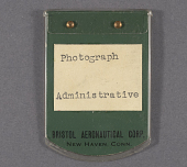 view Badge, Identification, Bristol Aeronautical Crop. digital asset number 1