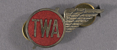 view Badge, Cap, Flight Attendant, Transcontinental & Western Air Inc. (TWA) digital asset number 1