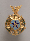 view Lapel Pin, Congressional Space Medal of Honor, Armstrong digital asset number 1