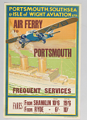 view Portsmouth, Southsea & Isle of Wight Aviation Air Ferry to Portsmouth digital asset number 1