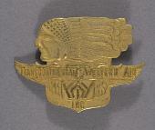 view Badge, Cap, Pilot, Transcontinental & Western Air Inc. (TWA) digital asset number 1
