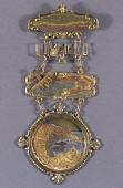 view Medal, Commemorative, Newport to Catalina Flight, Glenn Martin digital asset number 1