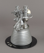 view Model, Rocket Engine, Liquid Fuel, J-2, 1:8 Scale digital asset number 1