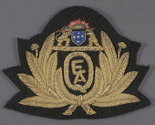 view Badge, Cap, Qantas Empire Air Lines Ltd. digital asset number 1