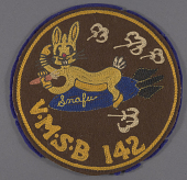 view Insignia, VMSB 142, United States Marine Corps digital asset number 1