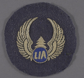 view Badge, Cap, Flight Crew, Libya International Airlines digital asset number 1