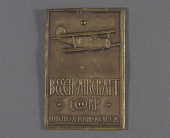 view Name Plate, Beech Aircraft Corp. digital asset number 1