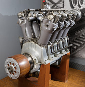 view Liberty L-8 (Packard) V-8 Engine digital asset number 1