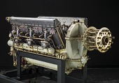 view Hispano-Suiza 12YCRS V-12 Engine digital asset number 1