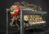 view Naval Aircraft Factory XV-715-2, Inverted V-12 Engine digital asset number 1