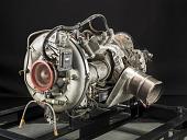 view Boeing T50-BO-8A (502-10VC) Turboshaft Engine digital asset number 1